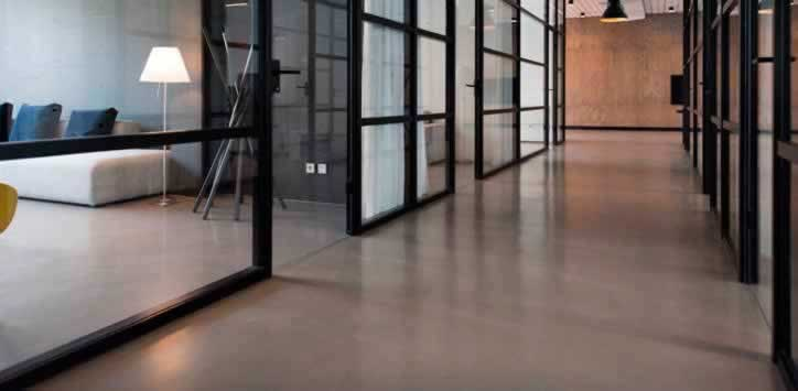 concrete floor microcemento