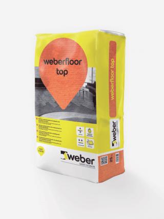 Weber Floor Top Autonivelante de 1 a 10 mm.