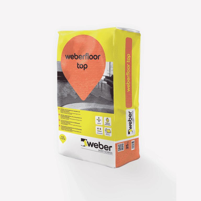 Weber Floor Top Autonivelante de 1 a 10 mm. 1