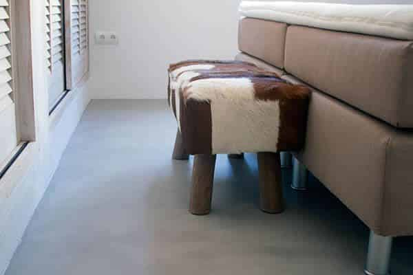 concrete alisado microcemento